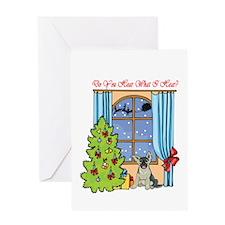 German Shepard Christmas Greeting Card