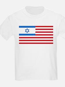 Israeli-American Flag T-Shirt