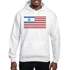 Israeli-American Flag Hoodie