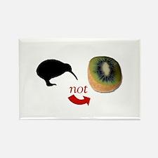 Kiwi not Kiwifruit! Rectangle Magnet