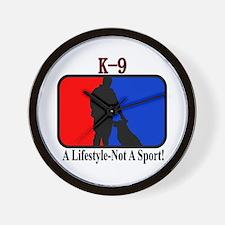 K9 Lifestyle Wall Clock