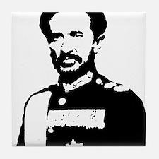 Haile Selassie Tile Coaster