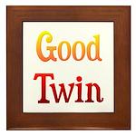 Good Twin Framed Tile