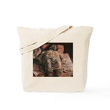Lamentation over the Dead Christ Tote Bag