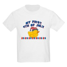1st 4th of July Patriotic Duc T-Shirt