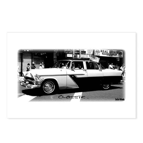 B/W Classic Postcards (Package of 8)