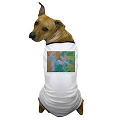 Tuscan Garden Dog T-Shirt