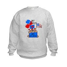 Bear 1st 4th of July CUTE Sweatshirt