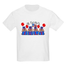 1st 4th of July BEARS T-Shirt