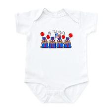 1st 4th of July BEARS Infant Bodysuit