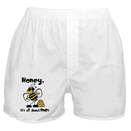 All About Me Bee Boxer Shorts
