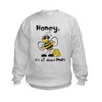 All About Me Bee Kids Sweatshirt