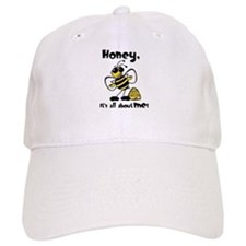 All About Me Bee Baseball Cap