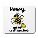 All About Me Bee Mousepad