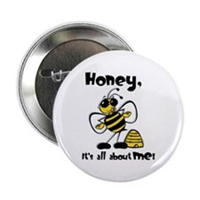 """All About Me Bee 2.25"""" Button"""