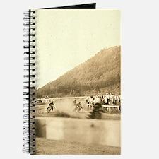 Vintage Motorcycle Half Miler Journal