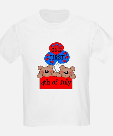 Our First 4th of July TWIN 2B T-Shirt