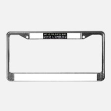 Cool Midwifery License Plate Frame
