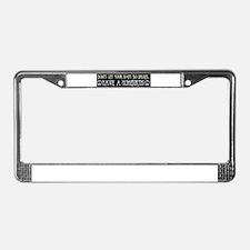 Unique Home birth License Plate Frame