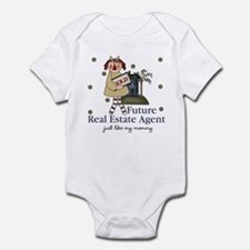 Future Real Estate Agent like Mommy Baby Bodysuit