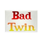 Bad Twin Rectangle Magnet (10 pack)