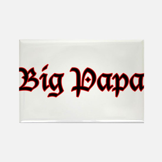 Big Papa Rectangle Magnet