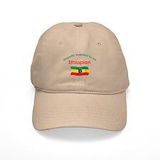 Happily Married Ethiopian Baseball Cap