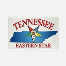 Tennessee Eastern Star Rectangle Magnet (100 pack)