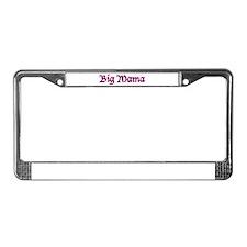 Big Mama License Plate Frame