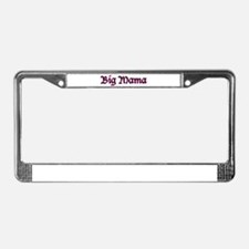 Big Mama License Plate Frame