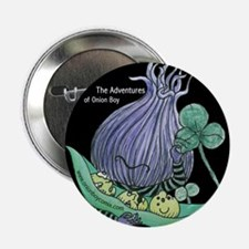 "The Adventures of Onion Boy: 2.25"" Button"