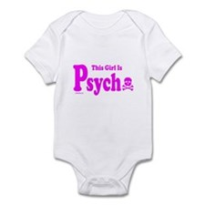 THIS GIRL IS PSYCHO Infant Bodysuit