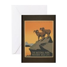 The National Parks Preserve W Greeting Card