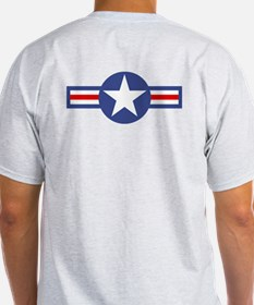 USAF-USA Flags T-Shirt