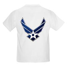 USAF-USA Flags T-Shirt
