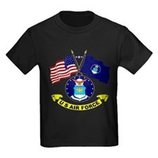 USAF-USA Flags T