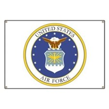 USAF Coat of Arms Banner