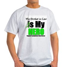 Lymphoma Hero (BIL) T-Shirt