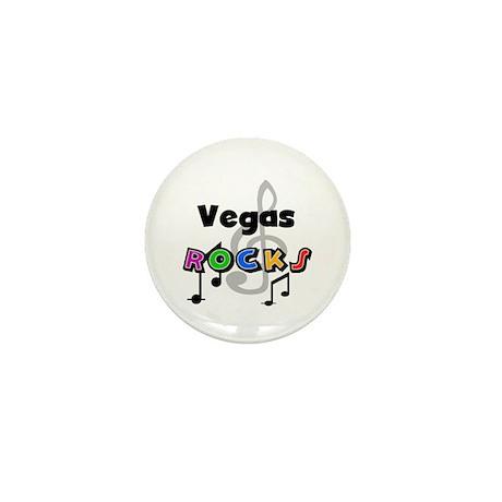 Vegas Rocks Mini Button