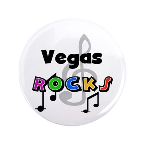 "Vegas Rocks 3.5"" Button (100 pack)"