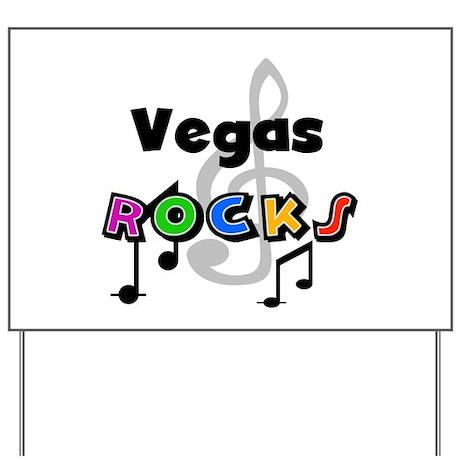 Vegas Rocks Yard Sign