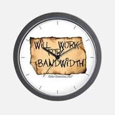Will Work for Bandwidth Wall Clock