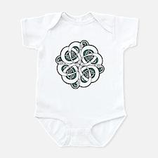 CELTIC37_GREEN Infant Bodysuit