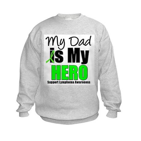 Lymphoma Hero (Dad) Kids Sweatshirt