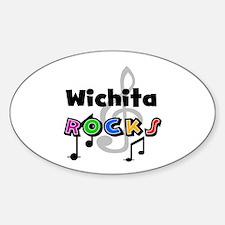 Wichita Rocks Oval Decal