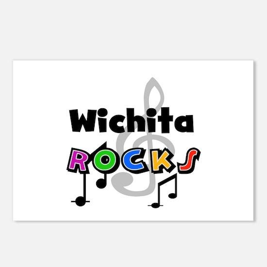Wichita Rocks Postcards (Package of 8)