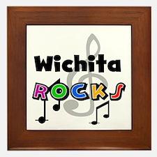 Wichita Rocks Framed Tile