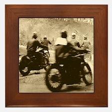 Vintage 200-mile TT Framed Tile
