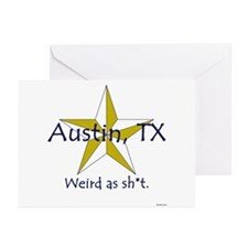 Austin is Weird Greeting Cards (Pk of 10)