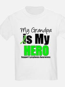 Lymphoma Hero (Grandpa) T-Shirt